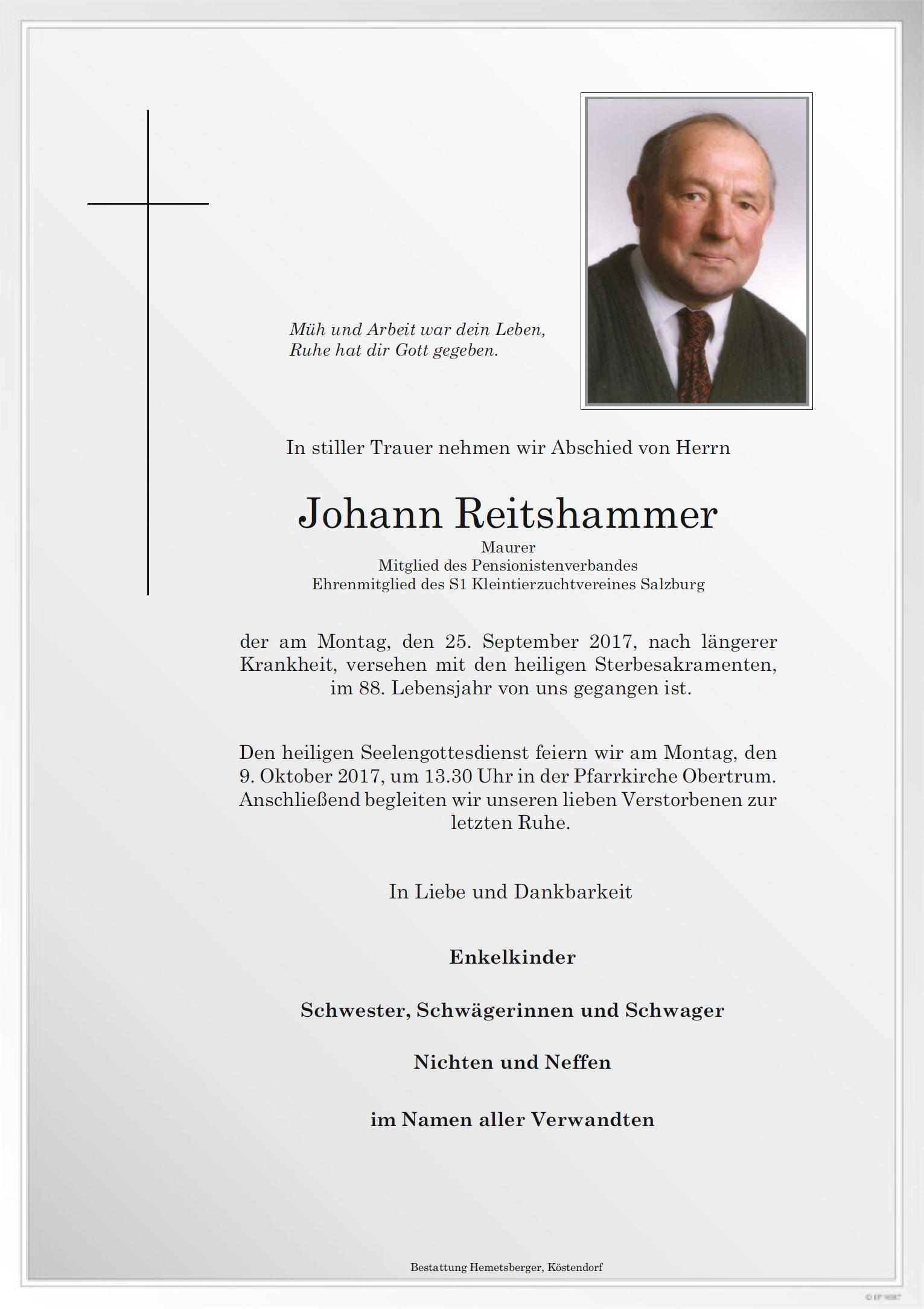 reitshammer parte