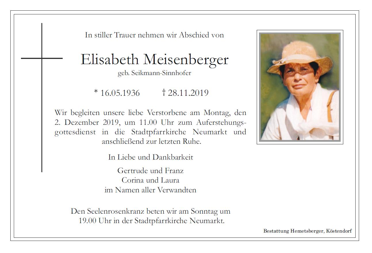 meisenberger parte
